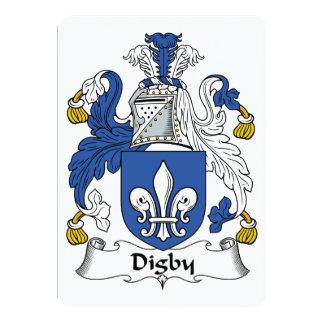 Escudo de la familia de Digby Invitación Personalizada
