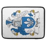 Escudo de la familia de Digby Fundas Para Macbook Pro