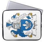 Escudo de la familia de Digby Mangas Computadora