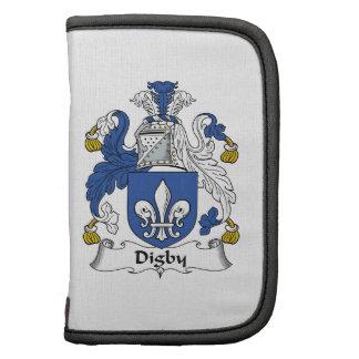 Escudo de la familia de Digby Planificador