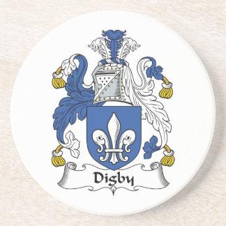 Escudo de la familia de Digby Posavasos Manualidades