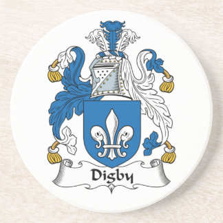 Escudo de la familia de Digby Posavaso Para Bebida