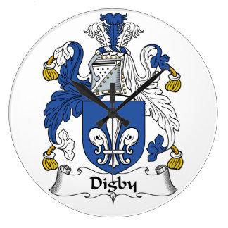 Escudo de la familia de Digby Relojes