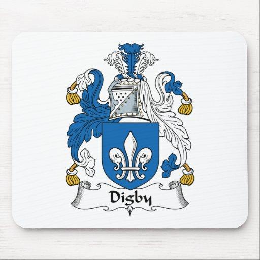 Escudo de la familia de Digby Alfombrillas De Ratones