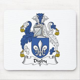 Escudo de la familia de Digby Tapetes De Ratones