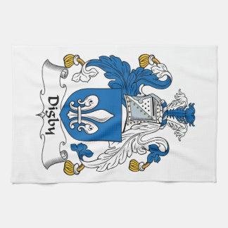Escudo de la familia de Digby Toalla De Mano