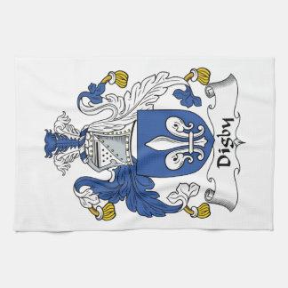 Escudo de la familia de Digby Toallas De Mano