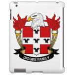 Escudo de la familia de Digges