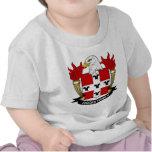 Escudo de la familia de Digges Camisetas