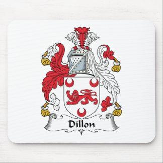 Escudo de la familia de Dillon Alfombrilla De Ratones