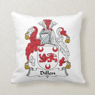 Escudo de la familia de Dillon Cojín Decorativo