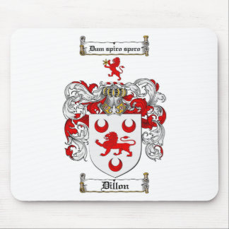ESCUDO DE LA FAMILIA DE DILLON - ESCUDO DE ARMAS TAPETES DE RATON