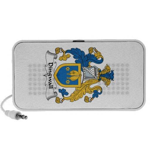 Escudo de la familia de Dingwall iPod Altavoz