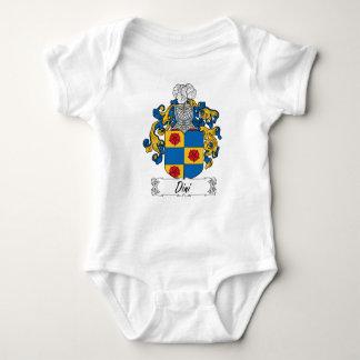 Escudo de la familia de Dini Body Para Bebé