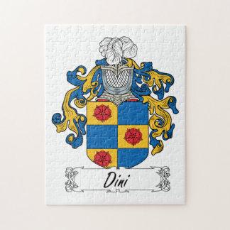 Escudo de la familia de Dini Rompecabeza