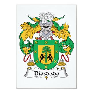 Escudo de la familia de Diosdado Comunicados Personalizados