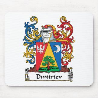 Escudo de la familia de Dmitriev Mouse Pad