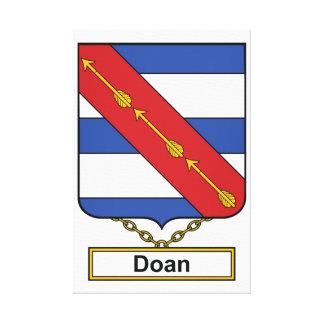 Escudo de la familia de Doan Impresion En Lona