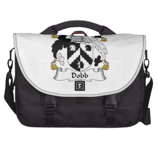 Escudo de la familia de Dobb Bolsas Para Portátil