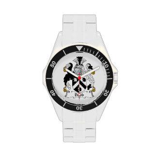 Escudo de la familia de Dobb Reloj De Mano
