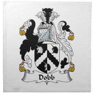 Escudo de la familia de Dobb Servilleta Imprimida