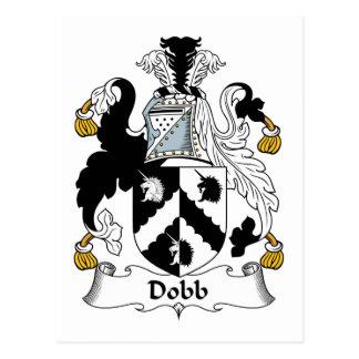 Escudo de la familia de Dobb Tarjeta Postal