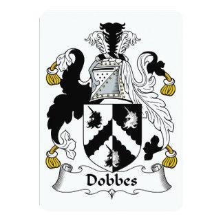 """Escudo de la familia de Dobbes Invitación 5"""" X 7"""""""