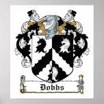 Escudo de la familia de Dobbs Impresiones