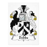 Escudo de la familia de Dobbs Comunicados Personales