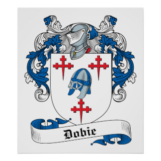 Escudo de la familia de Dobie Impresiones