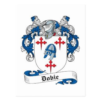Escudo de la familia de Dobie Postales