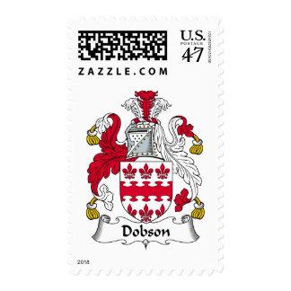 Escudo de la familia de Dobson Timbres Postales