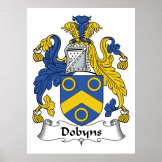 Escudo de la familia de Dobyns Impresiones