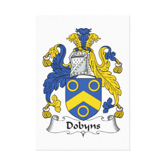 Escudo de la familia de Dobyns Lona Estirada Galerias