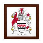 Escudo de la familia de Dodd Cajas De Recuerdo