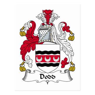 Escudo de la familia de Dodd Postales