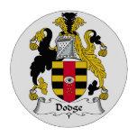 Escudo de la familia de Dodge Juego De Fichas De Póquer