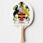 Escudo de la familia de Dodge Pala De Ping Pong