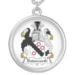Escudo de la familia de Dodsworth Collares Personalizados
