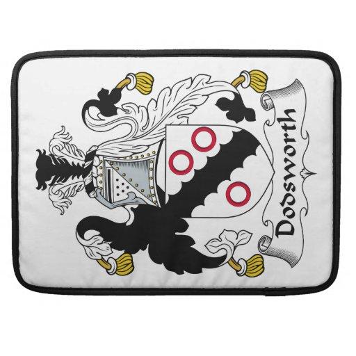 Escudo de la familia de Dodsworth Funda Macbook Pro