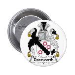 Escudo de la familia de Dodsworth Pin
