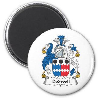 Escudo de la familia de Dodwell Imanes De Nevera