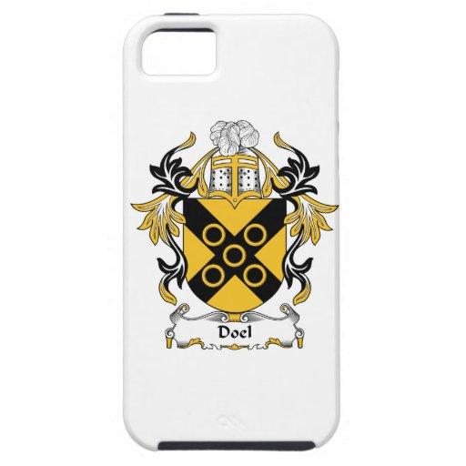Escudo de la familia de Doel iPhone 5 Protectores