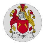 Escudo de la familia de Dogget Juego De Fichas De Póquer