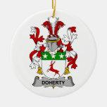 Escudo de la familia de Doherty Adornos
