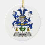 Escudo de la familia de Dolan Ornamentos De Reyes