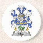 Escudo de la familia de Dolan Posavasos Cerveza