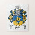 Escudo de la familia de Dolce Rompecabezas Con Fotos