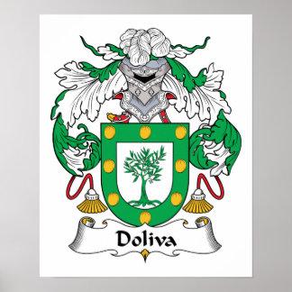 Escudo de la familia de Doliva Impresiones