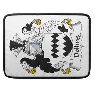 Escudo de la familia de Dolling Funda Para Macbook Pro